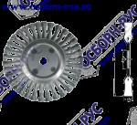 Коническая щетка гофрированная д/обработке и очистке поверхностей D100x20