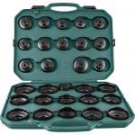Комплект чашек для съема масляных фильтров 65-120 мм, 30 предметов