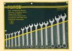 Набор ключей комбинированных 14пр. дюймовые