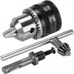 Патрон ключ+адаптер SDS plus в компл.  3-16 мм 1/2 - 20UNF № 99 70206007(70206008)