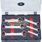 Напильник овальной формы с эргономичной рукояткой в блистере 203 мм LMCB-8PM