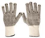 Защитные перчатки 100% хлопок с защитой от скольжения